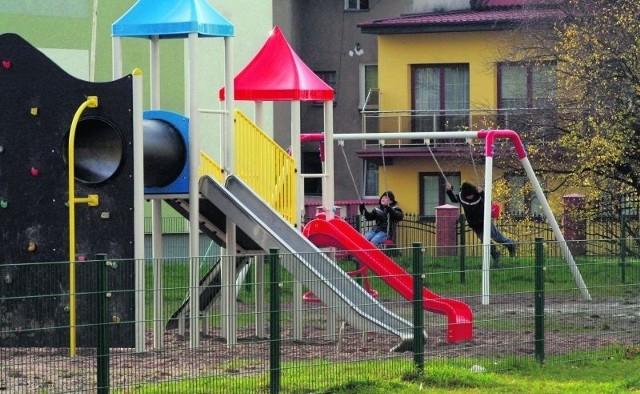 Plac zabaw w Pucku