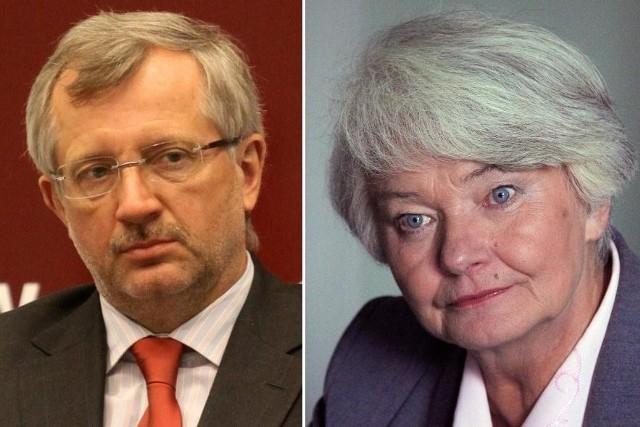 Marek Siwiec i Krystyna Łybacka jeszcze niedawno byli razem w SLD. Teraz wygląda na to, że będą rywalizować o miejsce w Parlamencie Europejskim z list różnych partii.