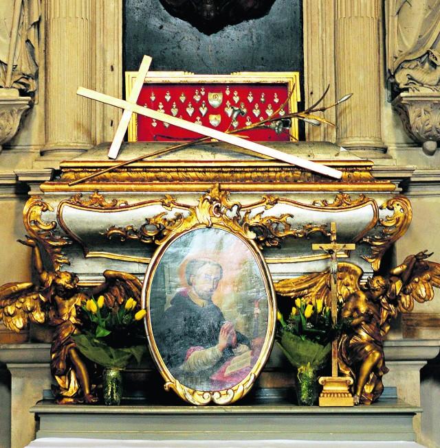 Grób Stanisława Kazimierczyka w kościele Bożego Ciała w Krakowie