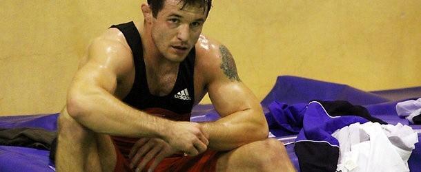 Krystian Brzozowski (Górnik Łęczna) rywalizuje w kategorii wagowej 74 kg
