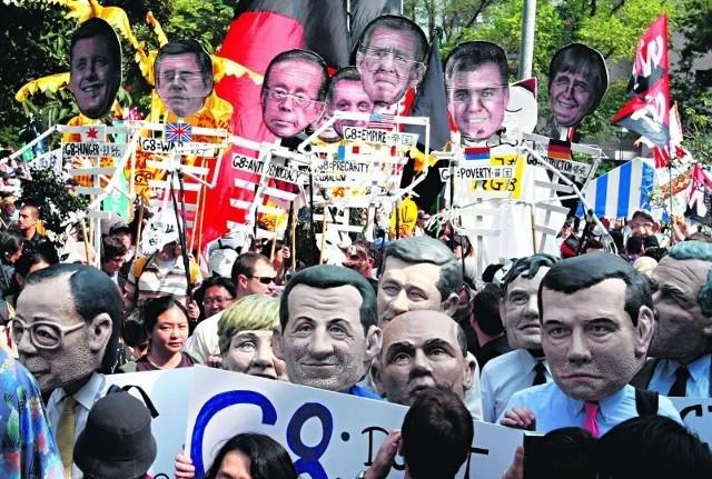 Tradycyjnie już demonstracje i przepychanki z policją zainaugurowały szczyt G8 w Japonii