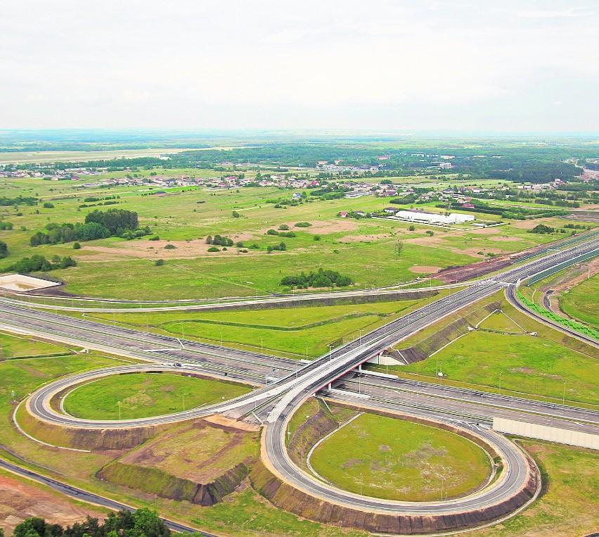 Północny koniec A1 w regionie, czyli węzeł z S1 przy lotnisku