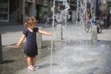 Na ulicy Modrzejowskiej działa już nowa fontanna. Trwają odbiory techniczne po remoncie