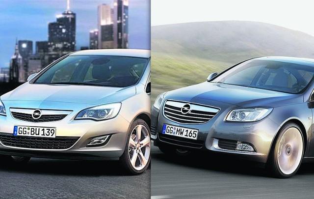 KZK GOP ogłosił przetarg na dwa samochody. Specyfikacja odpowiada modelom: opla astry i opla insigni