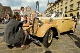 Zabytkowe pojazdy przyjechały na wrocławski Rynek (ZDJĘCIA)