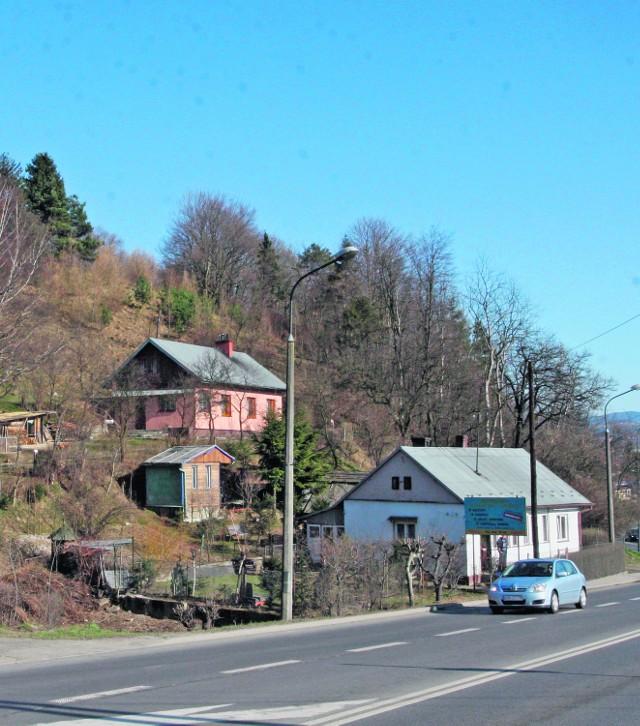 Mieszkańcy tych domów chcą należeć do osiedla Zabełcze, a nie do Przetakówki