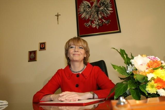 Hanna Zdanowska już po ślubowaniu