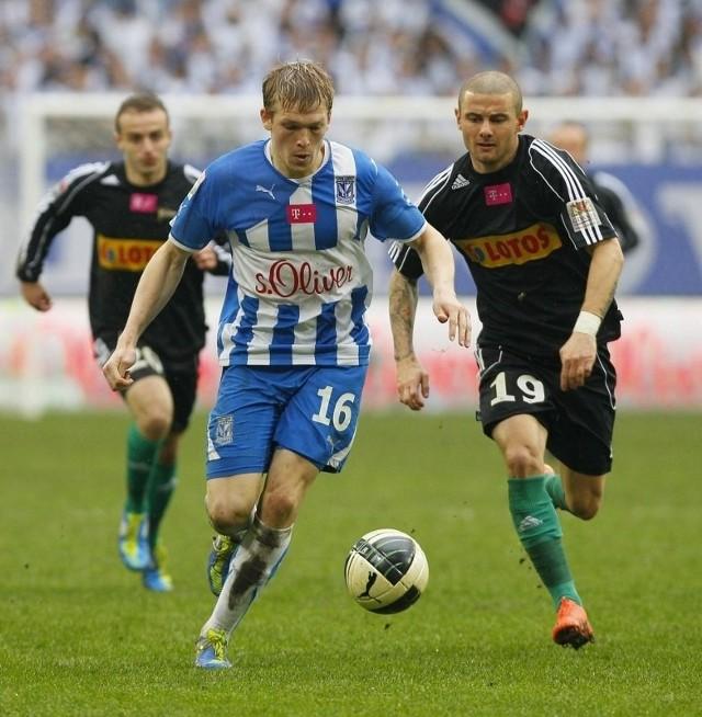 Jakub Wilk do 86. minuty grał nieźle.