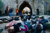 Kraków. Halloweenowy strajk klimatyczny. Młodzi wyszli na ulice [GALERIA]