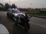 Motocyklista jadący bez uprawnień zatrzymany przez policję w Sztumie