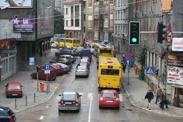 Wczoraj Katowice były kompletnie nieprzejezdne