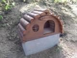 Muszyna. Postawili nowe domki dla jeży i wiewiórek [ZDJĘCIA]