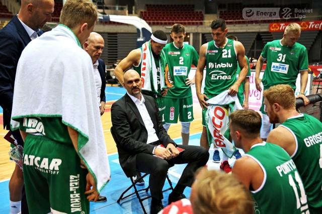 W drugim meczu Energa Basket Ligi zielonogórzanie walczyli ze Śląskiem Wrocław.
