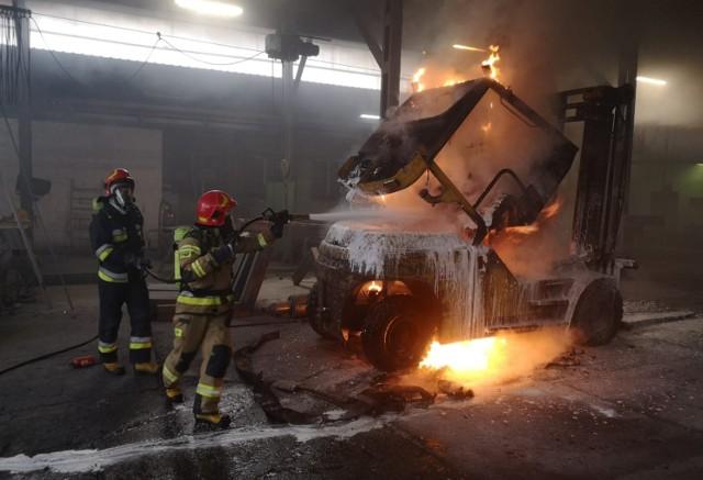 Nie wiadomo, jaka była przyczyna pożaru na ul. Węgierskiej