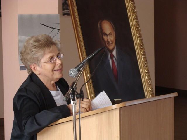 Alicja Kapuścińska jest honorowym rektorem WARRK