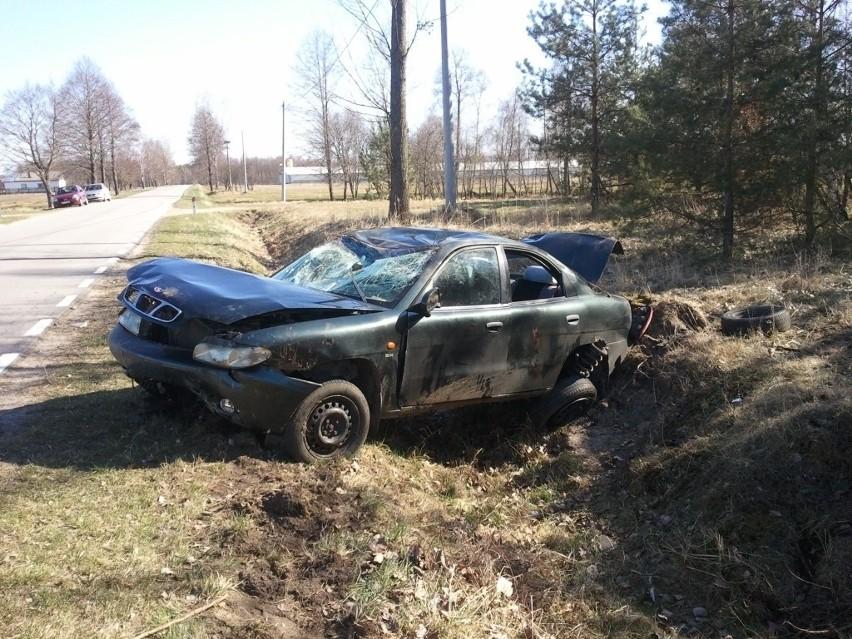 19-latka w Rudce Łowieckiej spowodowała wypadek