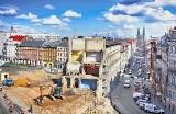 """Poznań: Kamienica """"żelazko"""" zburzona. Dedykowano jej konkurs"""