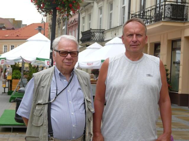 """""""Samolociarze"""" Janusz Stachowicz i Benon Bujnowski"""