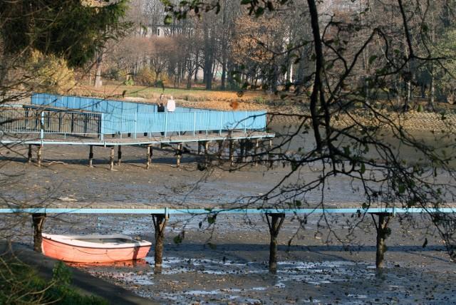 Wodę spuszczono już ze Stawów Stefańskiego