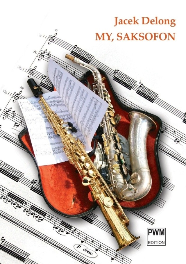Promocji książki towarzyszy koncert kwartetu saksofonowego.