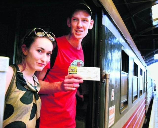 Olga Łoś i Krzysztof Tomaszewski zmian w cenie jednorazowego biletu jeszcze nie zauważyli