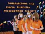 Przasnysz bawił się na sportowo z Pomarańczową Siłą. Dzieci poczuły smak igrzysk!