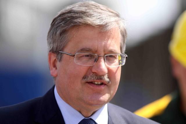 Bronisław Komorowski nagrał już przesłanie dla działaczy PO