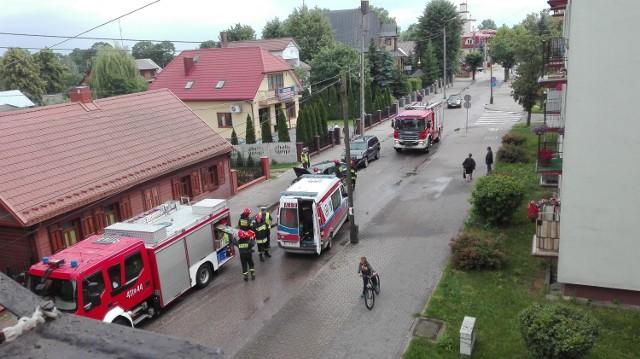 Wypadek na ul. Jagiellońskiej w Bielsku Podlaskim