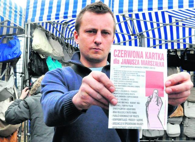 Czerwoną kartkę wręczyły prezydentowi Oświęcimia także środowiska kupieckie