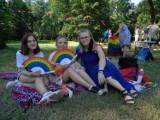 Tęczowy Piknik w Parku Miejskim w Kaliszu ZDJĘCIA