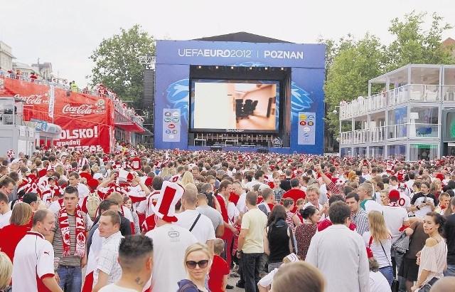 W żadnej ze stref kibica w Poznaniu organizator nie zadbał o zapłatę tantiem