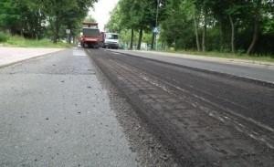 Frezowanie ulicy