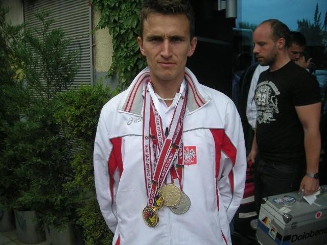 Rafał Nowak jest jednym z najbardziej utytułowanych lekkoatletów Spartana Lublin