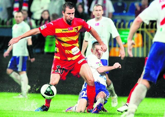Debiutujący w ekstraklasie bielszczanie zremisowali z Jagiellonią 2:2, choć przegrywali 0:2