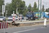 Remont torowiska w Sosnowcu na ul. Piłsudskiego. Są utrudnienia dla pasażerów