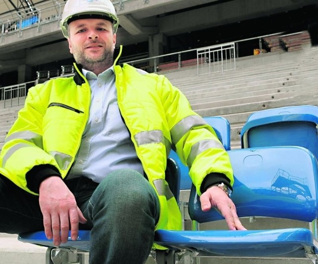 Michał Prymas: - Nasz stadion to arena wielofunkcyjna