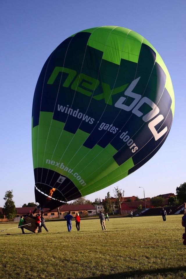 Balony można było oglądać nad Piłą w piątek. Zawody potrwają jeszcze w sobotę