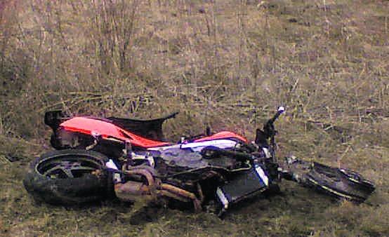 W poniedziałkowym wypadku w Cedrach Małych zginął 29-letni motocyklista