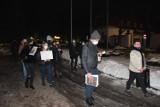 Kilkanaście osób protestowało w Lęborku przeciwko decyzji TK o ograniczeniu prawa do aborcji