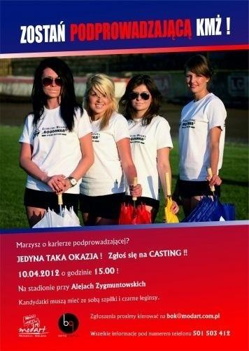 Casting na podprowadzające KMŻ Lublin