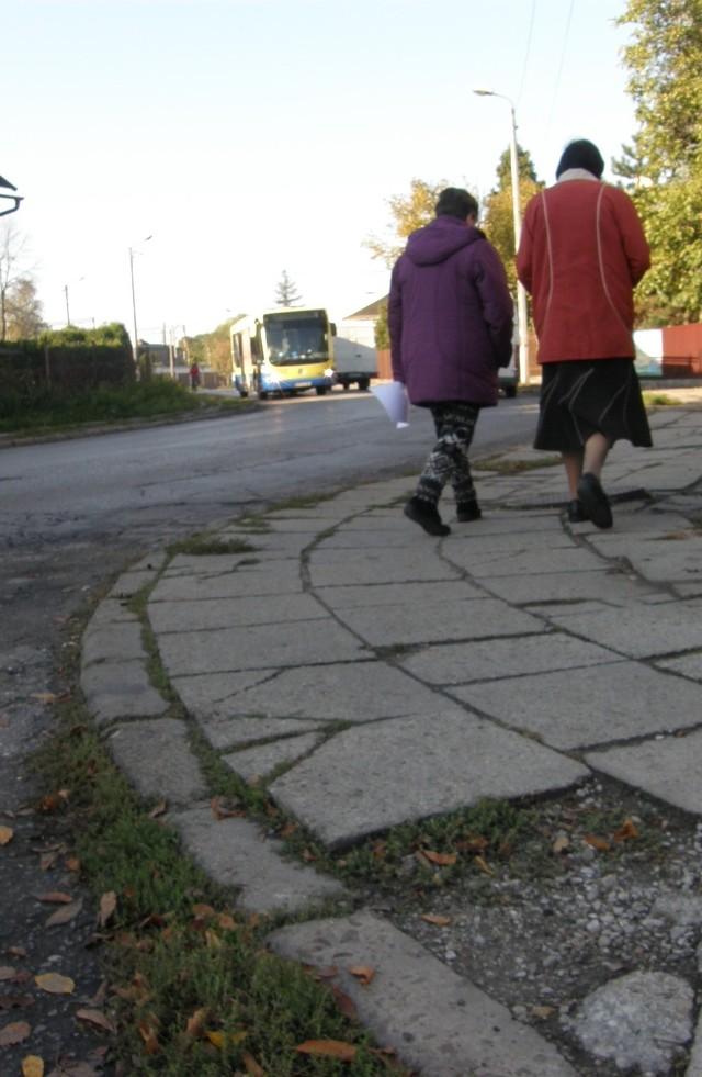 To może być sposób zwrócenia uwagi na zapomniane ulice