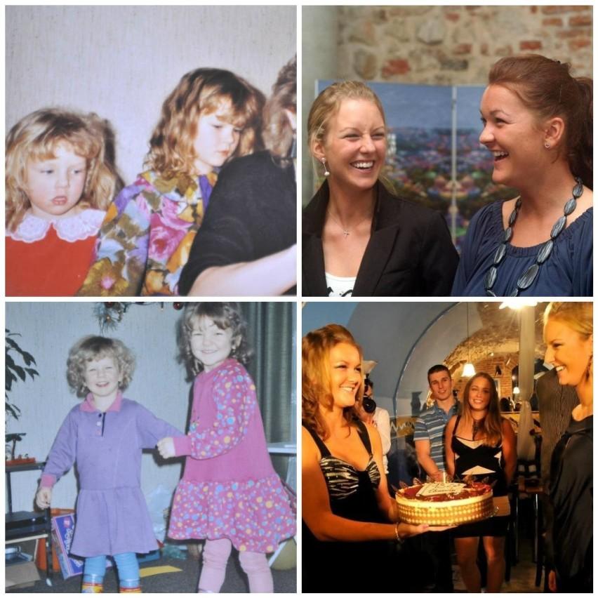 Unikalne zdjęcia z dzieciństwa sióstr Agnieszki i Urszuli Radwańskich [GALERIA]