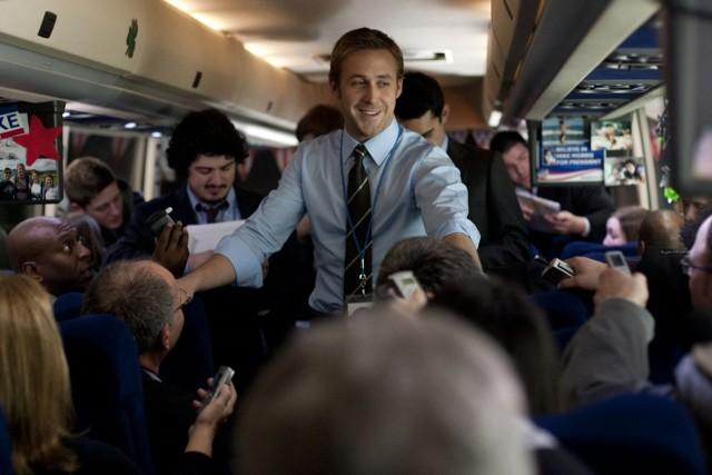 Ryan Gosling jako ambitny Stephen