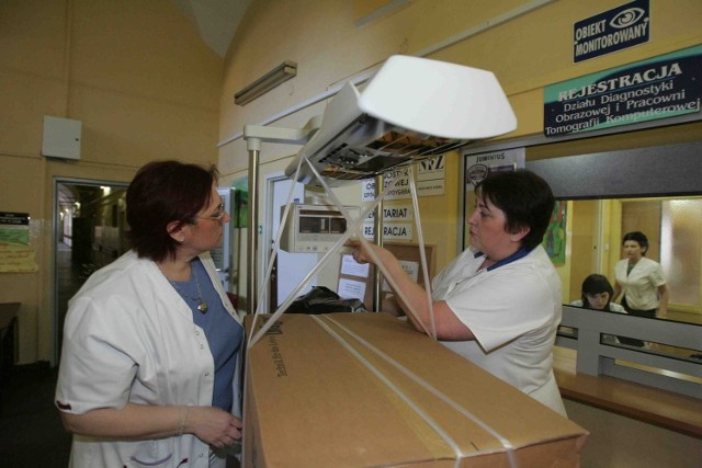 Szpital został zaopatrzony m.in. w nowe inkubatory