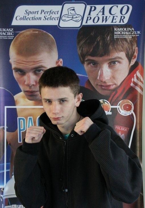 Karol Judin (Paco Team Lublin) został w tym roku mistrzem Polski juniorów