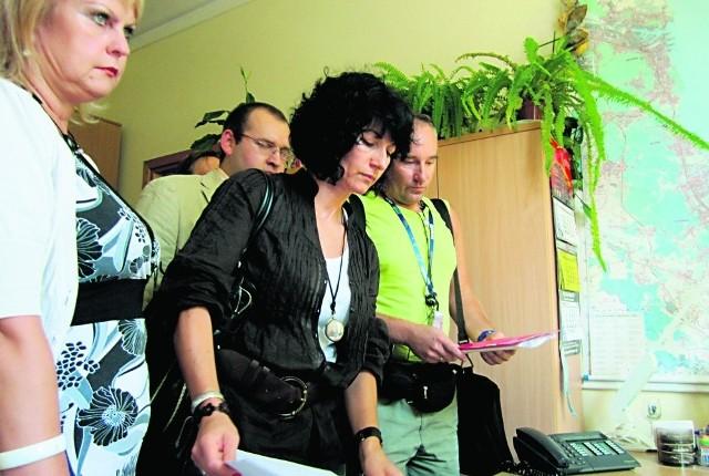 Mirosława Węsierska (z lewej) i Aleksandra Chodorowska już w sierpniu składały projekt