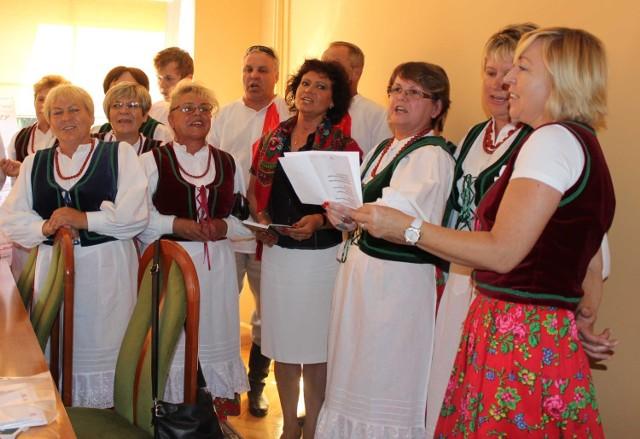 Zespół z Trębaczewa przywiózł z Łęczycy nagrodę Grand Prix