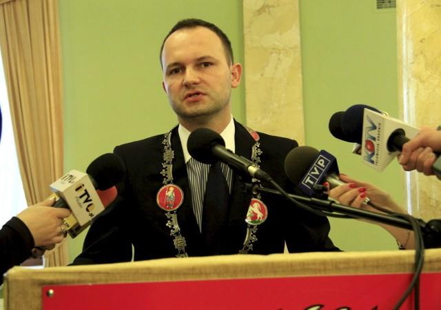 Marszałek woj. lubelskiego Krzysztof Hetman