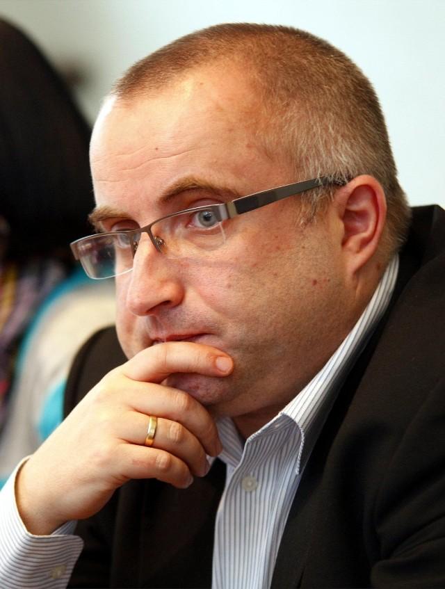 Marek Sternalski, szef klubu radnych PO w radzie miasta