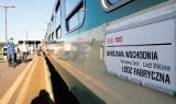 Łodź: pociąg ze stolicy kwadrans stoi na Widzewie